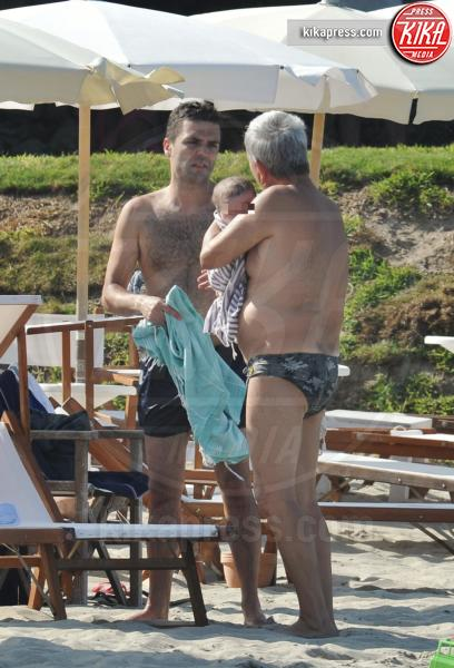 Tobia Vendola, Ed Testa, Nichi Vendola - Otranto - 01-08-2016 - Nichi Vendola-Ed Testa, due uomini e un bebè