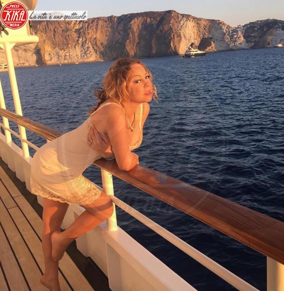Mariah Carey - Capri - 01-08-2016 - Estate 2019: i vip turisti abituali in Italia