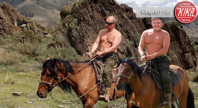 Vladimir Putin, Donald Trump - Hollywood - 04-08-2016 - #DonaldTrumpTheMovie: il cinema sfotte Trump