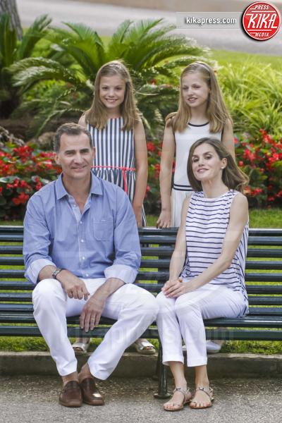 Re Filippo VI di Spagna, Principessa Leonor di Borbone, Principessa Sofia, Letizia Ortiz - Palma de Mallorca - 04-08-2016 - Saranno loro a sedersi, un giorno, sui troni d'Europa
