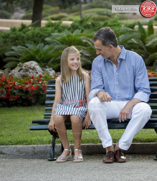 Re Felipe di Borbone, Principessa Sofia - Palma de Mallorca - 04-08-2016 - Felipe e Letizia di Borbone, ritratto di famiglia (reale)