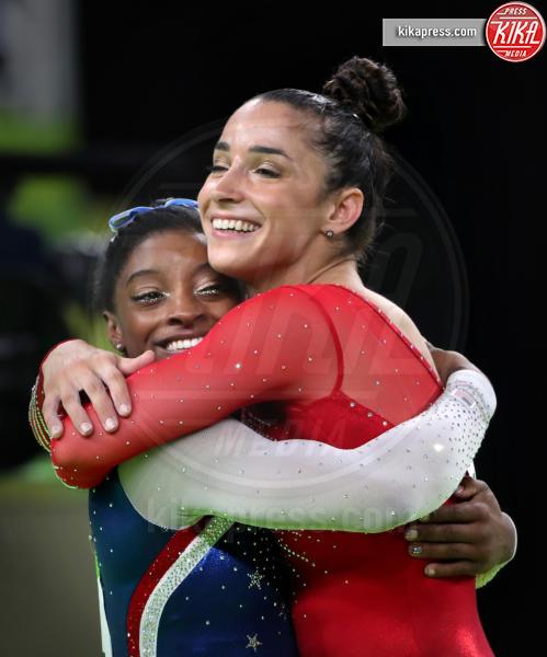 Alexandra Raisman, Simone Biles - Rio de Janeiro - 11-08-2016 - Simone Biles:
