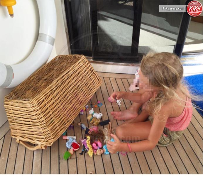 Mia Facchinetti - Ibiza - 21-08-2016 - Le vacanze in barca di Alessia Marcuzzi e Mia