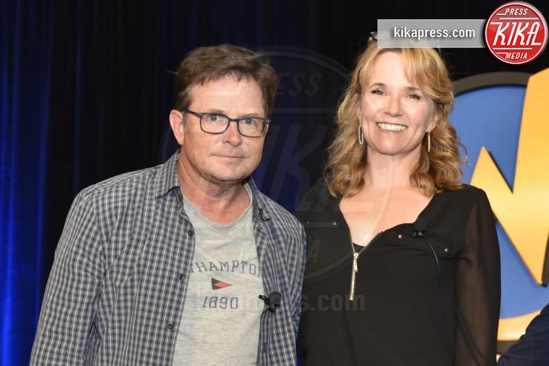 Michael J. Fox, Lea Thompson - Rosemont - 20-08-2016 - Ritorno al futuro arriva a 4? Gli attori ieri e oggi