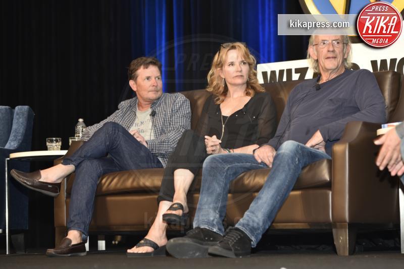 Michael J. Fox, Christopher Lloyd, Lea Thompson - Rosemont - 20-08-2016 - Ritorno al futuro arriva a 4? Gli attori ieri e oggi