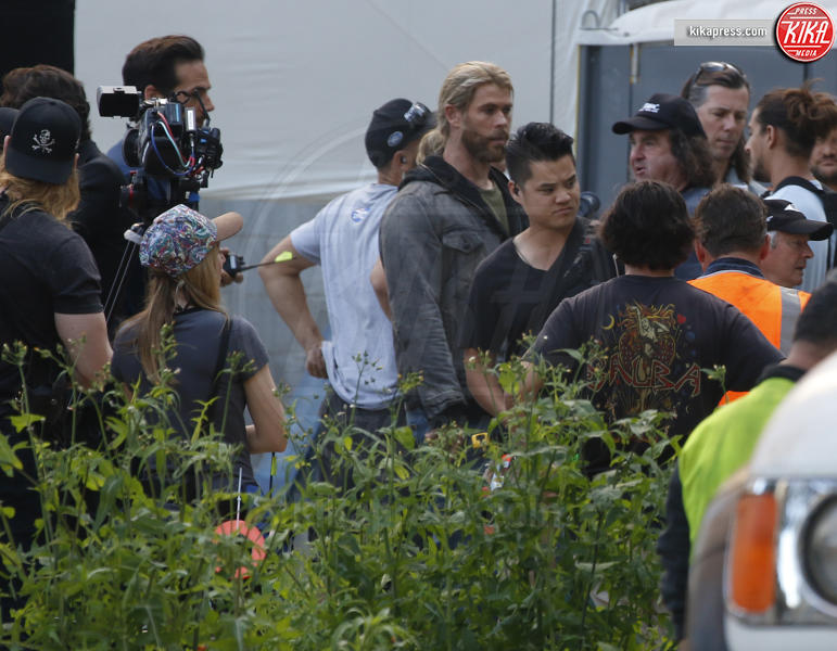 Chris Hemsworth - Brisbane - 22-08-2017 - Hemsworth-Hiddleston, le prime foto sul set di Ragnarok