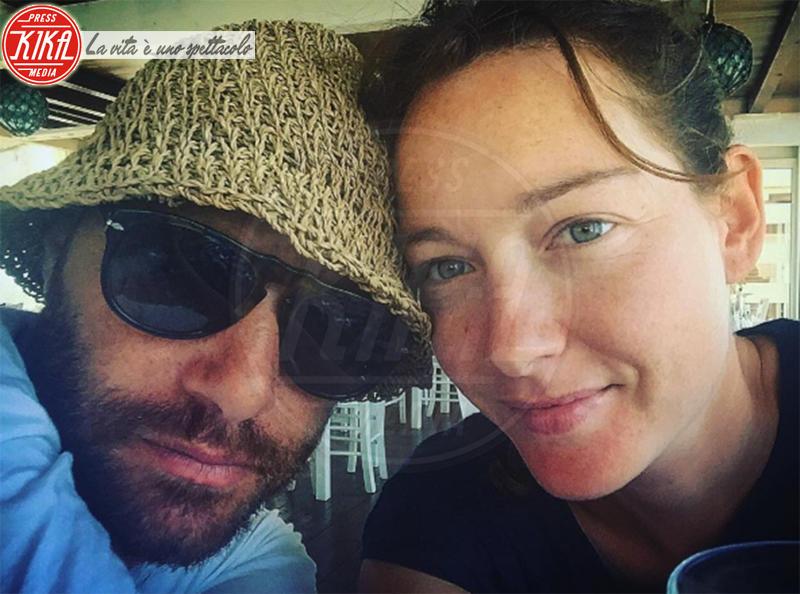 Andrea Pezzi, Cristiana Capotondi - ITALIA - 24-08-2016 - Finita la gita via mare di Cristiana Capotondi e il compagno