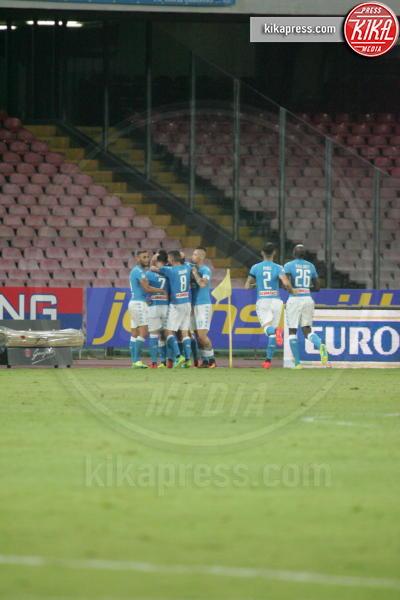 Napoli - 27-08-2016 - Il Napoli batte il Milan: rossoneri chiudono in 9