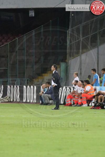 Vincenzo Montella - Napoli - 27-08-2016 - Il Napoli batte il Milan: rossoneri chiudono in 9