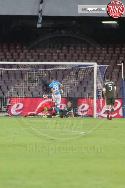 Arkadiusz Milik - Napoli - 27-08-2016 - Il Napoli batte il Milan: rossoneri chiudono in 9