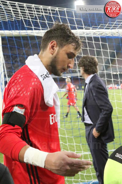 Gianluigi Donnarumma - Napoli - 27-08-2016 - Il Napoli batte il Milan: rossoneri chiudono in 9