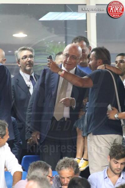 Adriano Galliani - Napoli - 27-08-2016 - Il Napoli batte il Milan: rossoneri chiudono in 9