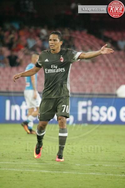 Carlos Bacca - Napoli - 27-08-2016 - Il Napoli batte il Milan: rossoneri chiudono in 9