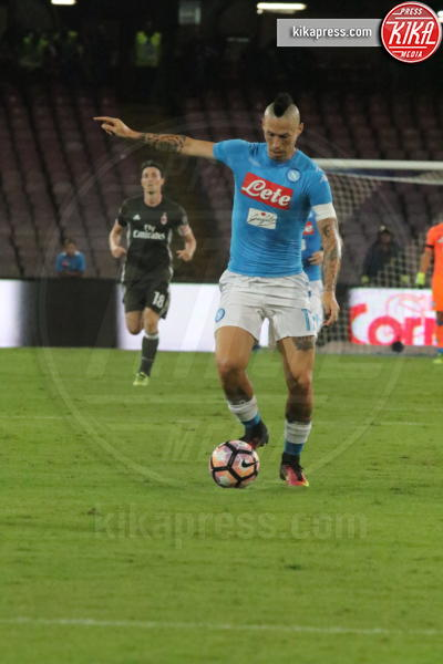 Marek Hamsik - Napoli - 27-08-2016 - Il Napoli batte il Milan: rossoneri chiudono in 9