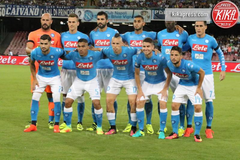 SSC Napoli - Napoli - 27-08-2016 - Il Napoli batte il Milan: rossoneri chiudono in 9