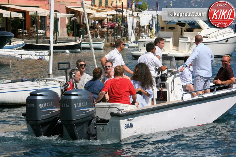 Elijah Furnish-John, Zachary Furnish-John, David Furnish, Elton John - Portofino - 27-08-2016 - Elton John è il vero diamante di Portofino
