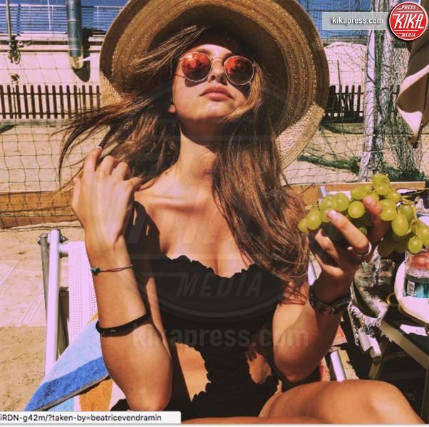 Beatrice Vendramin - Milano - 28-08-2016 - Beatrice Vendramin, ma quale Saul Nanni? È meglio l'uva!