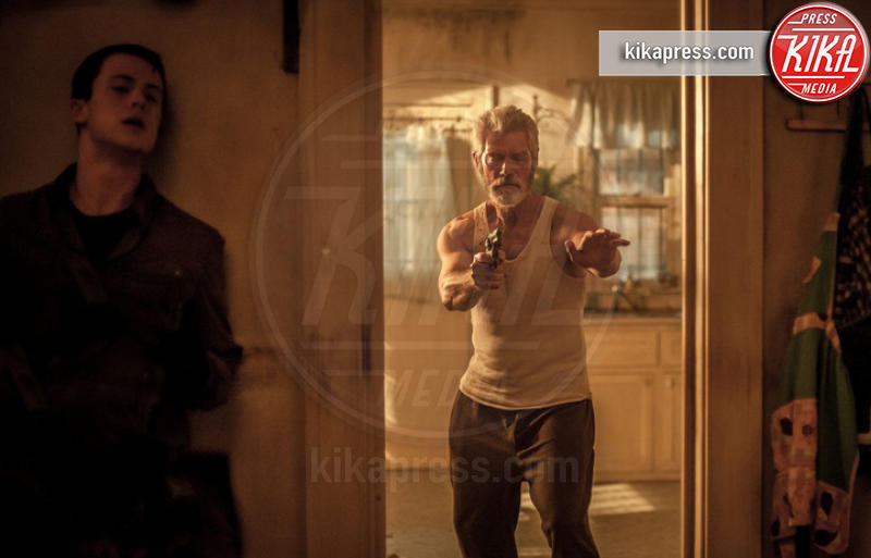 Dylan Minnette, Stephen Lang - Los Angeles - 28-08-2016 - Don't Breathe, quando la paura si fa... cieca