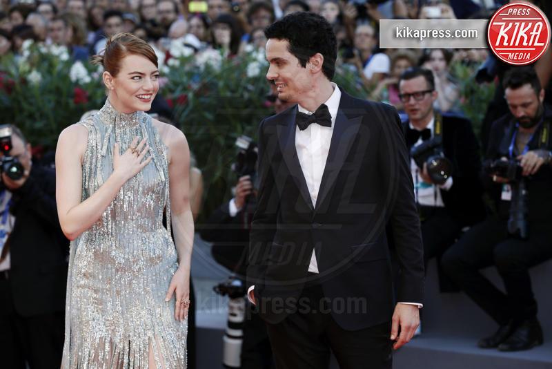Damien Chazelle, Emma Stone - Venezia - 31-08-2016 - Golden Globe 2017: Damien Chazelle è il Miglior Regista