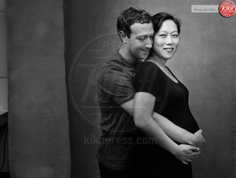 Priscilla Chan, Mark Zuckerberg - Milano - 02-09-2016 - Sono incinta! Quando l'annuncio è social