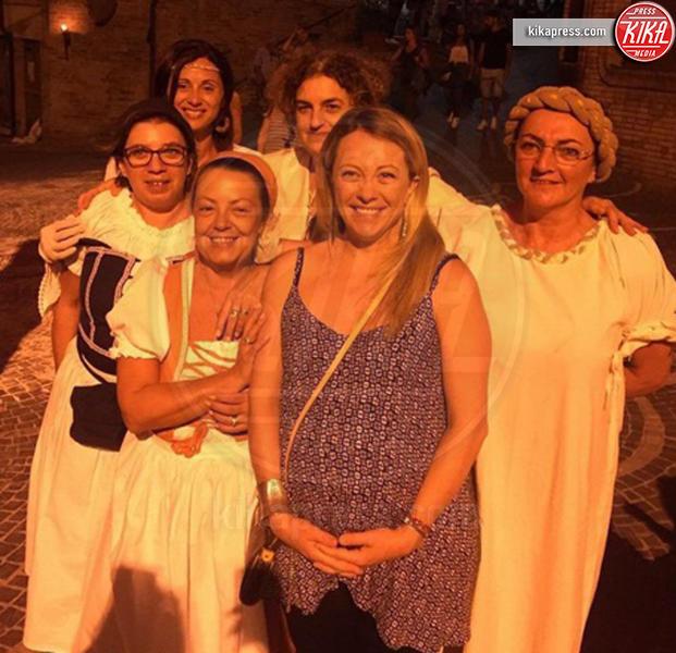 Giorgia Meloni - Milano - 02-09-2016 - Sono incinta! Quando l'annuncio è social