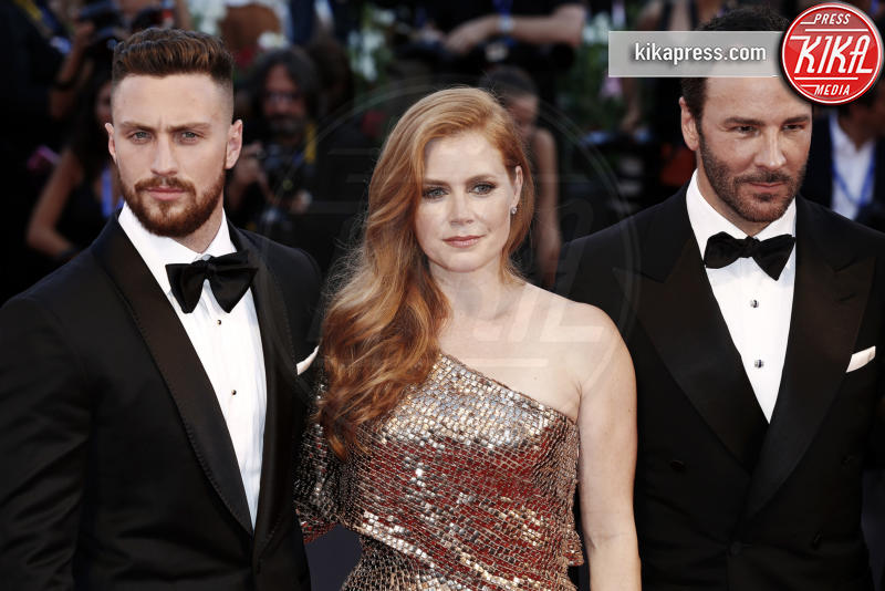 Aaron Taylor-Johnson, Amy Adams, Tom Ford - Venezia - 03-09-2016 - Venezia 73, il Leone d'Oro va a The woman who left