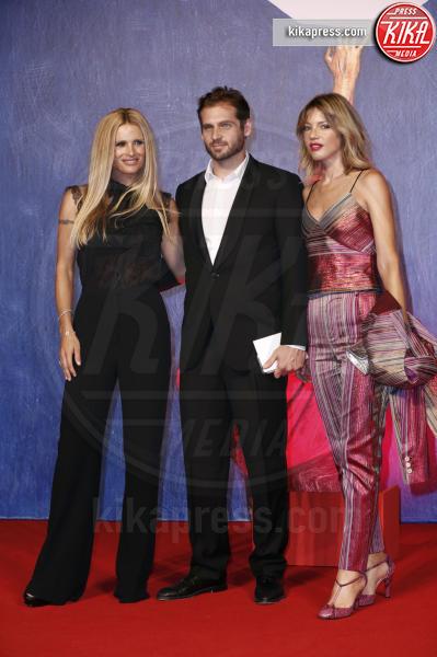 Tomaso Trussardi, Gaia Trussardi, Michelle Hunziker - Venezia - 03-09-2016 - Adriano Giannini ha sposato in segreto Gaia Trussardi