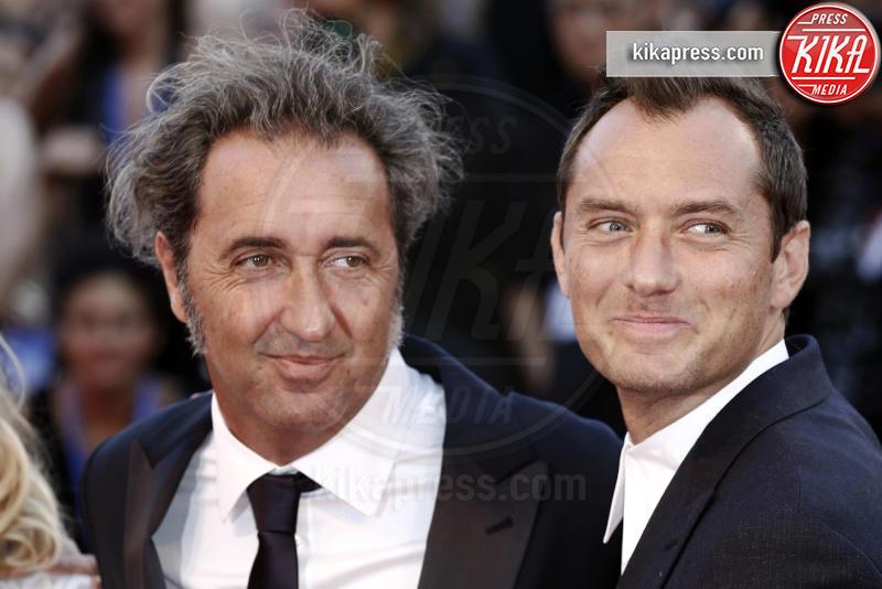 Paolo Sorrentino, Jude Law - Venezia - 05-09-2016 - Venezia 73: Jude Law è The Young Pope per Paolo Sorrentino