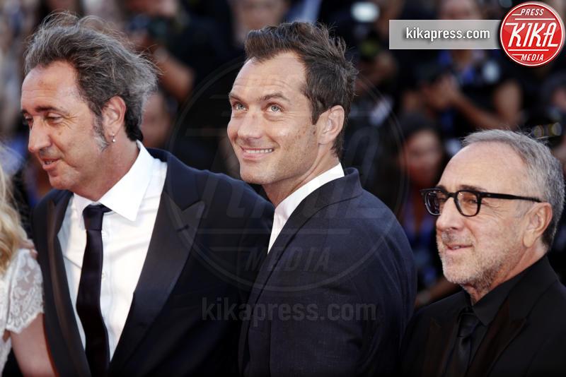 Paolo Sorrentino, Jude Law - Venezia - 05-09-2016 - Jude Law nei panni di Albus Silente? Wow!