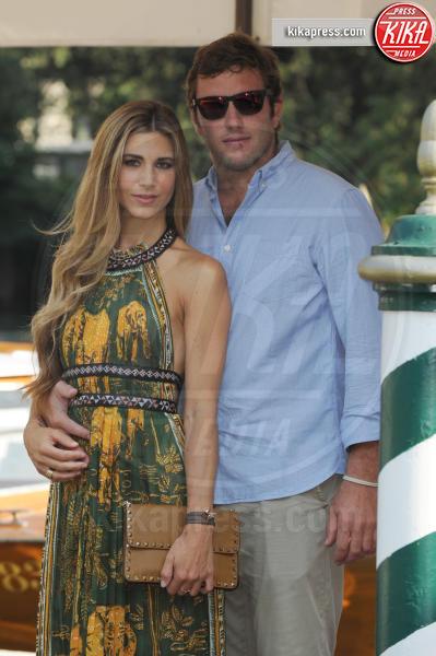 Federico Alvera, Nicoletta Romanoff - Venezia - 04-09-2016 - Il dolce annuncio di Nicoletta Romanoff: