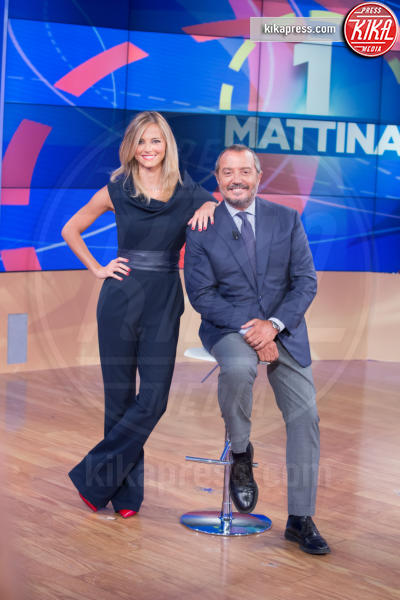 Francesca Fialdini, Franco Di Mare - Roma - 07-09-2016 - La Vita in diretta, addio Cristina Parodi, ecco chi al suo posto