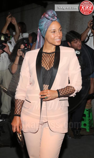 Alicia Keys - New York - 07-09-2016 - New York Fashion Week: il parterre de rois del defilé Tom Ford