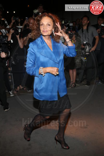 Diane Von Furstenberg - New York - 07-09-2016 - New York Fashion Week: il parterre de rois del defilé Tom Ford