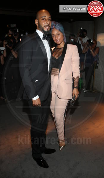 Swizz Beatz, Alicia Keys - New York - 07-09-2016 - New York Fashion Week: il parterre de rois del defilé Tom Ford