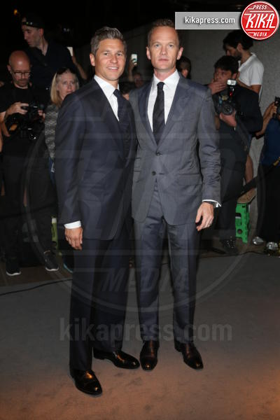David Burka, Neil Patrick Harris - New York - 07-09-2016 - New York Fashion Week: il parterre de rois del defilé Tom Ford