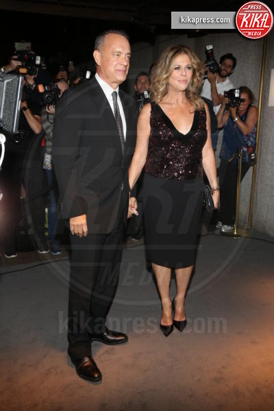 Tom Hanks, Rita Wilson - New York - 07-09-2016 - New York Fashion Week: il parterre de rois del defilé Tom Ford