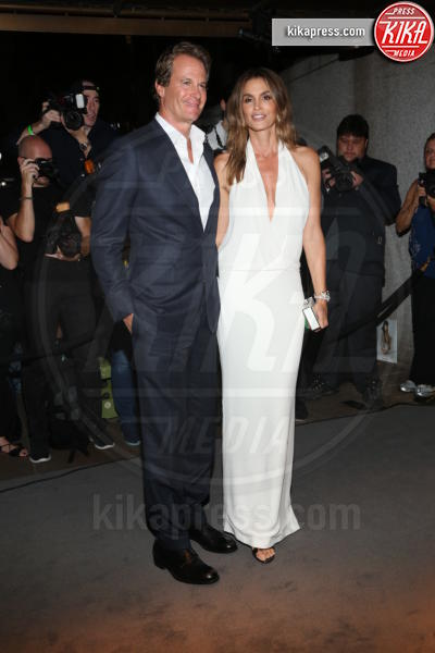 Randy Gerber, Cindy Crawford - New York - 07-09-2016 - New York Fashion Week: il parterre de rois del defilé Tom Ford