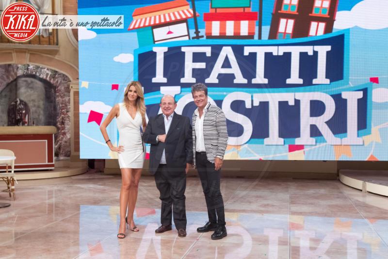 Marcello Cirillo, Giancarlo Magalli, Adriana Volpe - Roma - 08-09-2016 - Ecco perché Laura Forgia ha pianto in diretta a I Fatti Vostri