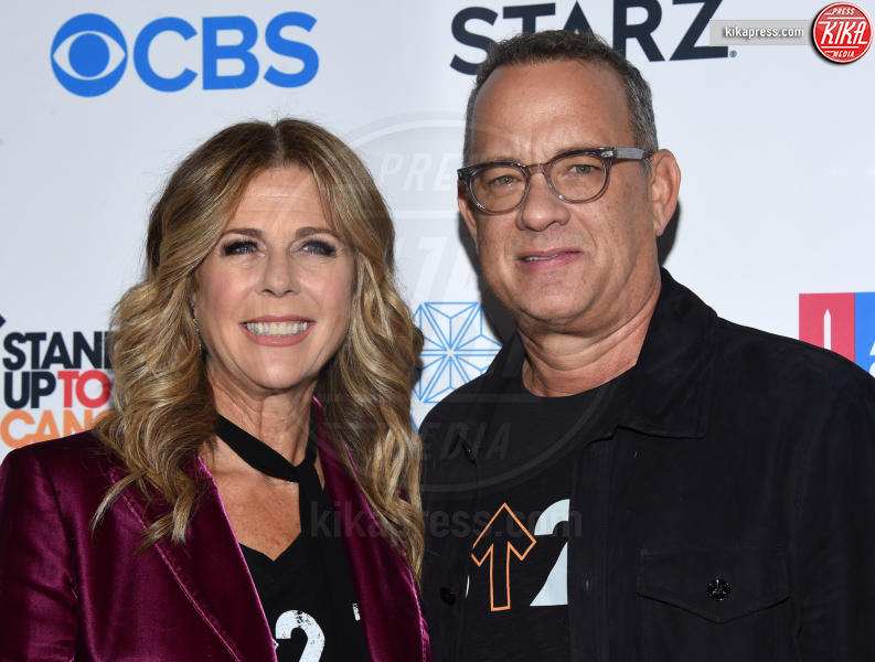 Tom Hanks, Rita Wilson - Los Angeles - 09-09-2016 - Shannen Doherty riunisce le star contro il cancro