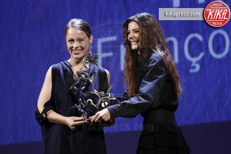 Chiara Mastorianni, Paula Beer - Venezia - 10-09-2016 - Venezia 73, The woman who left vince il  Leone d'Oro