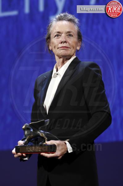 Laurie Anderson - Venezia - 10-09-2016 - Venezia 73, The woman who left vince il  Leone d'Oro