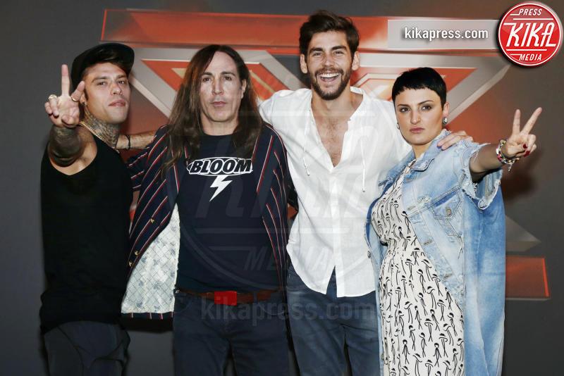 Alvaro Soler, Fedez, Arisa, Manuel Agnelli - Venezia - 12-09-2016 - Aurora Ramazzotti brilla al party d'apertura di X-Factor