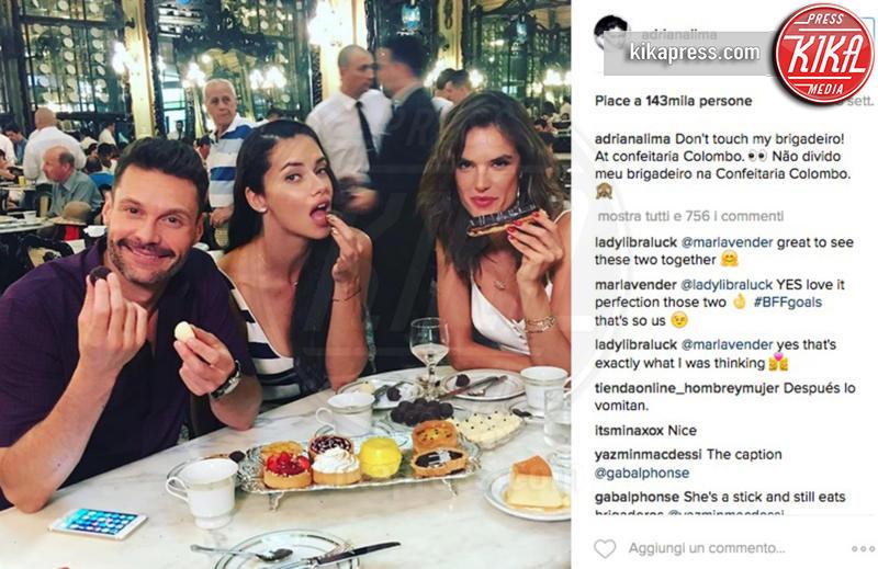 Adriana Lima, Alessandra Ambrosio, Ryan Seacrest - 14-09-2016 - Altro che Khedira: Adriana Lima sta con Ryan Seacrest?