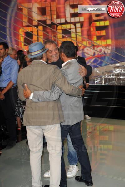 Enrico Montesano, Carlo Conti, Claudio Amendola - Roma - 14-09-2016 - Tale e Quale show, al via la sesta edizione