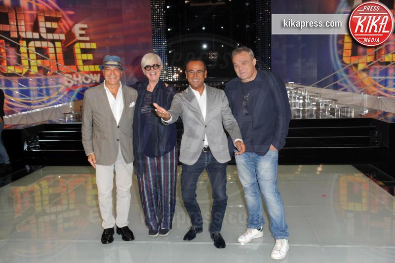 Loretta Goggi, Enrico Montesano, Carlo Conti, Claudio Amendola - Roma - 14-09-2016 - Tale e Quale show, al via la sesta edizione