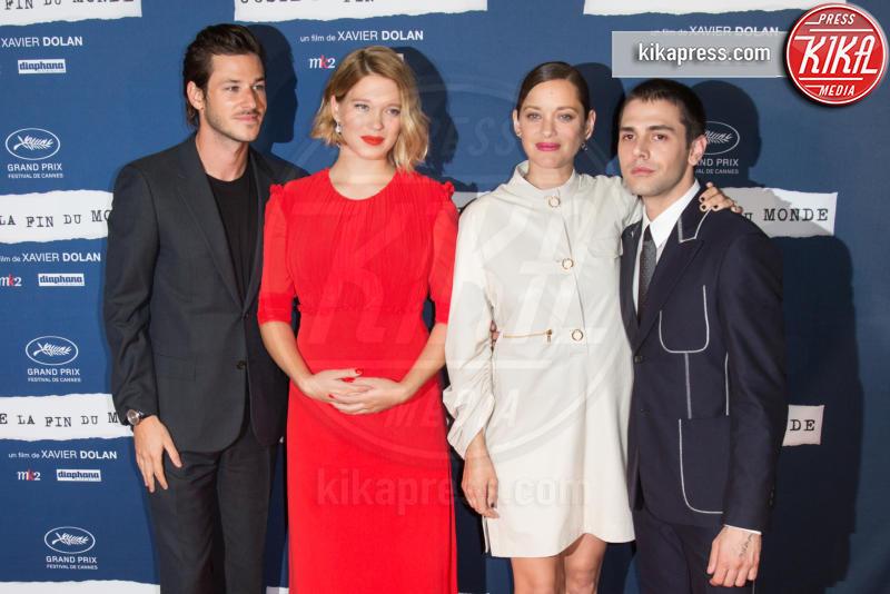 Xavier Dolan, Lea Seydoux, Gaspard Ulliel, Marion Cotillard - Parigi - 15-09-2016 - Lea Seydoux incinta, il pancione da red carpet