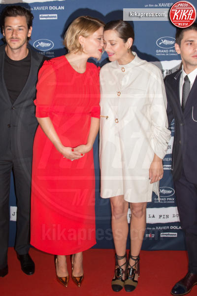 Lea Seydoux, Marion Cotillard - Parigi - 15-09-2016 - Lea Seydoux incinta, il pancione da red carpet