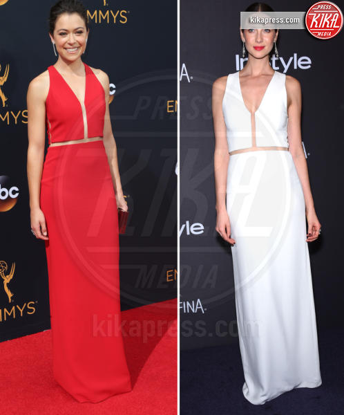 Tatiana Maslany, Caitriona Balfe - Los Angeles - 19-09-2016 - Emmy Awards 2016: Chi lo indossa meglio? Tatiana e Caitriona