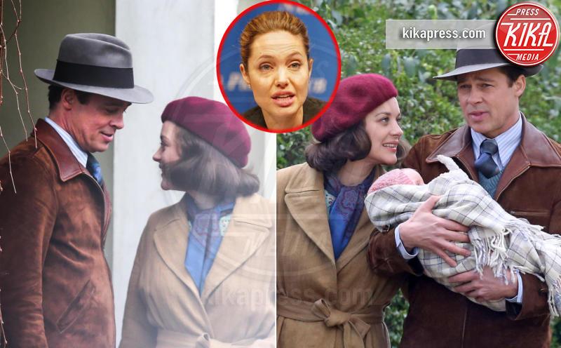 Marion Cotillard, Angelina Jolie, Brad Pitt - Londra - 20-09-2016 - Marion Cotillard incinta! Il padre è Brad Pitt?