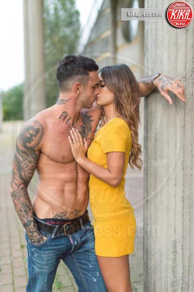 Silvia Corrosa, Lucas Peracchi - Milano - 17-09-2016 - Tra Lucas Peracchi e Silvia Corrias è vero amore (con tatuaggio)